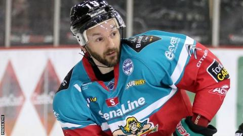 Colin Shields scored for Belfast in the defeats by the Panthers and Storm