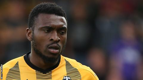 David Amoo scored five goals in 49 appearances for Cambridge United last season