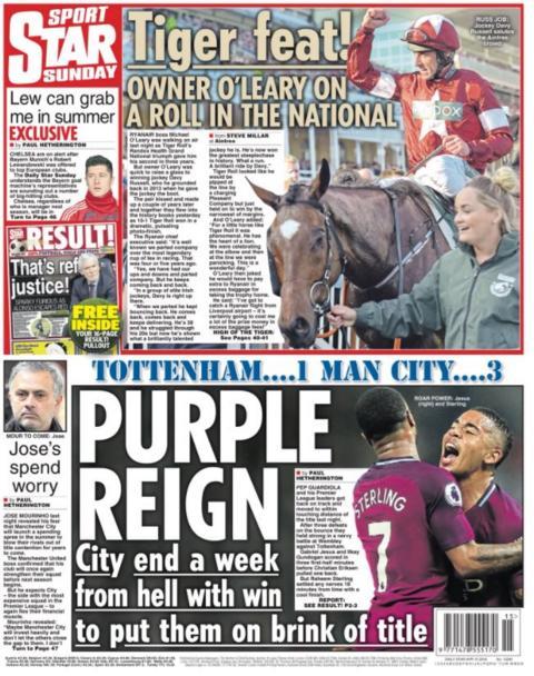 Sunday Star Sport