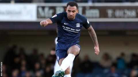Anton Ferdinand in action for Southend United