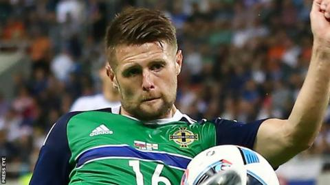Oliver Norwood has made 47 appearances for Northern Ireland