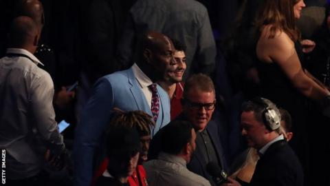 Frank Bruno 'starting to mend' after being hospitalised with pneumonia