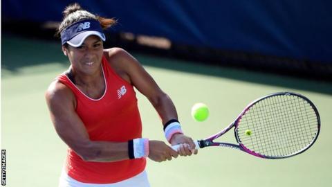 Heather Watson beats Magda Linette in Tianjin Open quarter-finals