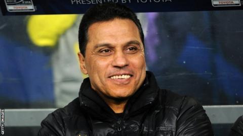 Egypt coach Hosam El Badry