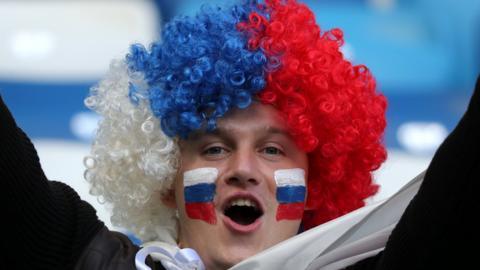 Serbia fan