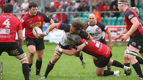 Cross Keys at Cornish Pirates