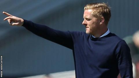 Birmingham City boss Garry Monk wants to take his Blues side onwards and upwards next season