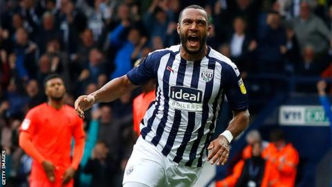West Bromwich Albion 4-2 Huddersfield Town: Unbeaten Baggies extend Terriers' winless start