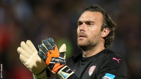 Lee Camp at Rotherham United