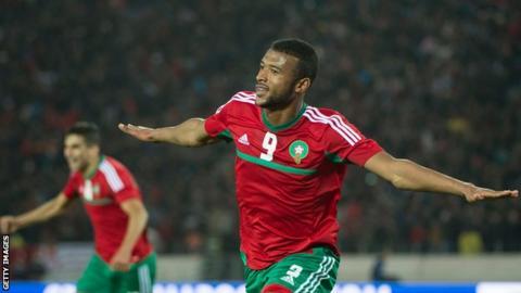 Morocco's Ayoub El Kaabi
