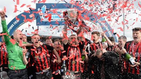 Crusaders have won the Irish Premiership title for the last two seasons