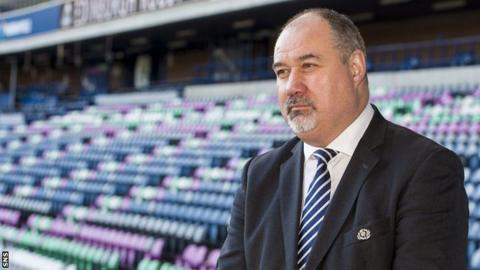 Mark Dodson, Scottish Rugby's chief executive