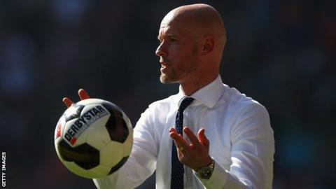 Ajax: FC Utrecht boss Erik ten Hag named new coach after clearout