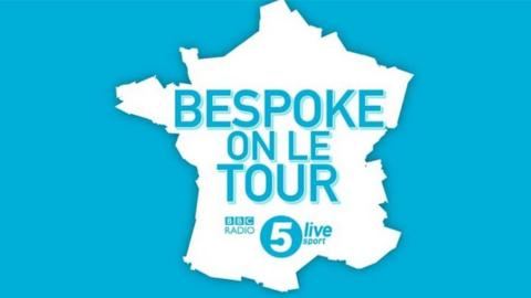 BeSPoke on Le Tour graphic