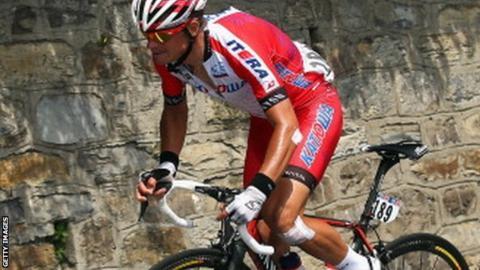 Eduard Vorganov of Team Katusha