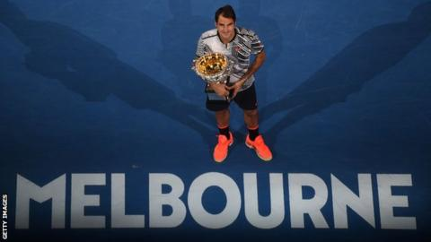 Federer joins Djokovic, Sharapova in 2nd round in Australia