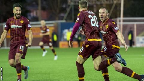 Motherwell picked up their fourth league win of the season on Saturday