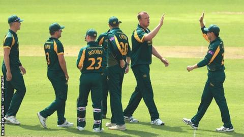 Nottinghamshire have now won three of their six One-Day Cup group games