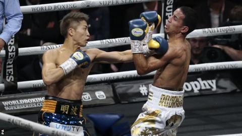 Inoue has now won his last three world-title fights in under eight minutes