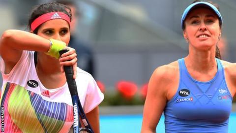 Martina Hingis & Sania Mirza end doubles partnership - BBC Sport