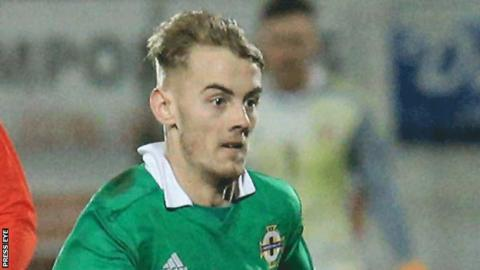 Mark Sykes is a Northern Ireland Under-21 international
