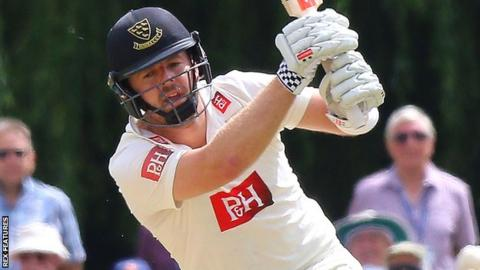 Chris Nash in action Sussex