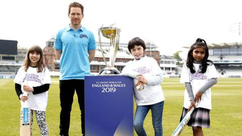 Eoin Morgan - England cricket captain