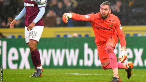 Hull City goalkeeper Allan McGregor