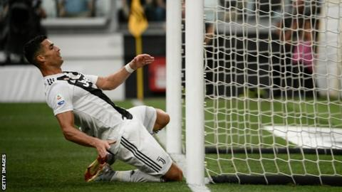 Cristiano Ronaldo  Juventus forward makes home debut as champions ... a482efce16f72