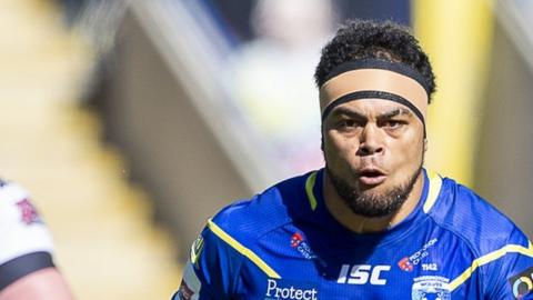 Sitaleki Akauola has made nine Super League appearances for Warrington Wolves this season