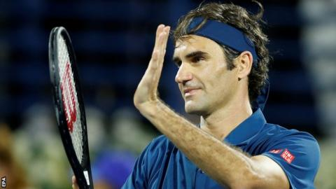Federer moves to brink of 100th title