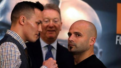 Warrington meets Martinez on Saturday but has eyes on champion Selby