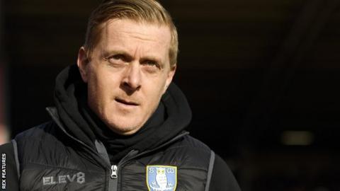 Sheffield Wednesday manager Garry Monk