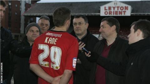 Harry Kane when at Leyton Orient