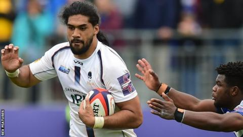 Michael Fatialofa joined Worcester Warriors in the summer of 2018