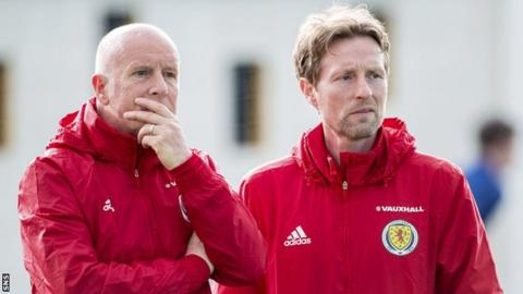 Peter Houston and Scot Gemmill