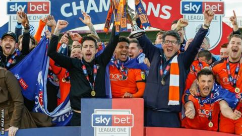 Luton champions