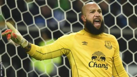 ecee90234 Tim Howard  Everton goalkeeper writes an emotional goodbye letter ...