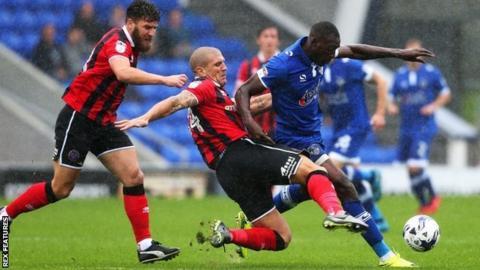 Adam El-Abd was one of Micky Mellon's nine pre-season signings for Shrewsbury Town