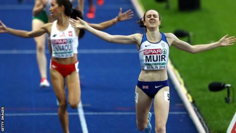 Laura Muir won the European Championship 1500m title in August