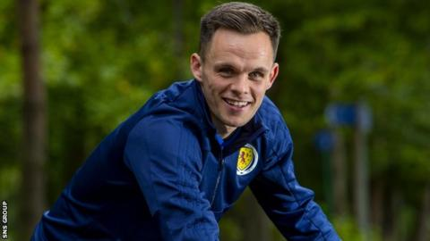 Lawrence Shankland is included in the Scotland squad for the first time
