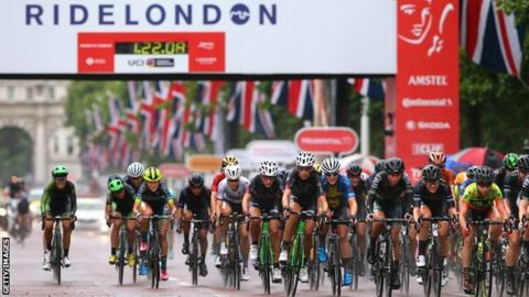 RideLondon annual cycling event