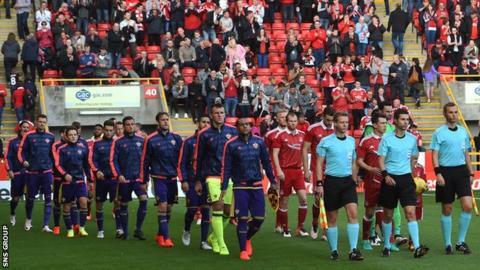 Maribor drew 1-1 at Pittodrie last week