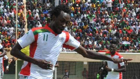 Burkina Faso's Jonathan Pitroipa