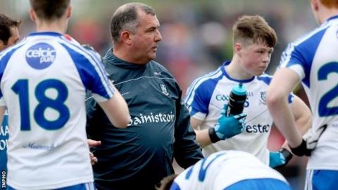 Former senior manager Seamus McEnaney is in charge of the Monaghan Minors this season