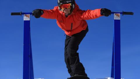 Para-snowboarder Amy Purdy