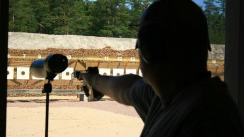 Pistol shooting at the Island Games