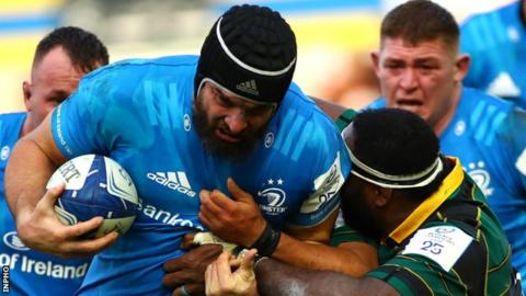 Rugby Scott Fardy came on as a replacement in Leinster's win in Northampton last weekend