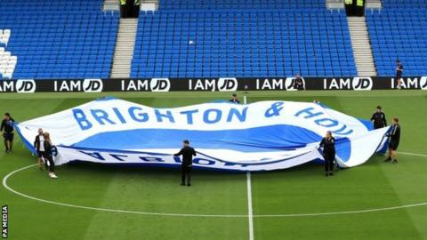 Brighton fans reported both incidents of alleged racism at the Amex Stadium
