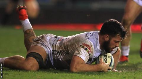Gareth Evans came through Gloucester's academy and was part of the 2015 Challenge Cup winning side